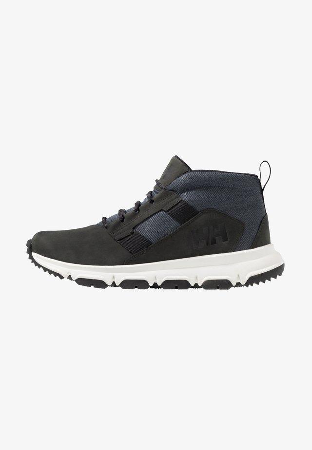 JAYTHEN X2 - Zapatillas de senderismo - black/ebony/offwhite