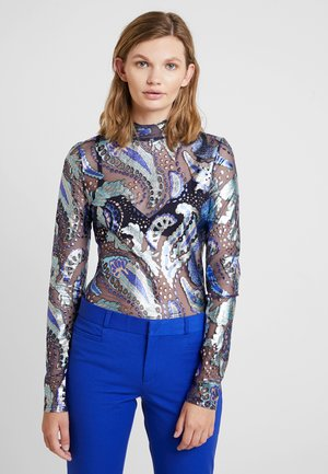 FLORETTE TOP - Long sleeved top - royal