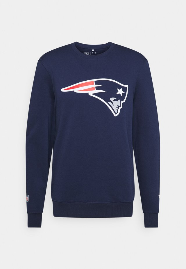 NFL NEW ENGLAND PATRIOTS ICONIC PRIMARY COLOUR LOGO GRAPHIC CREW - Squadra - navy