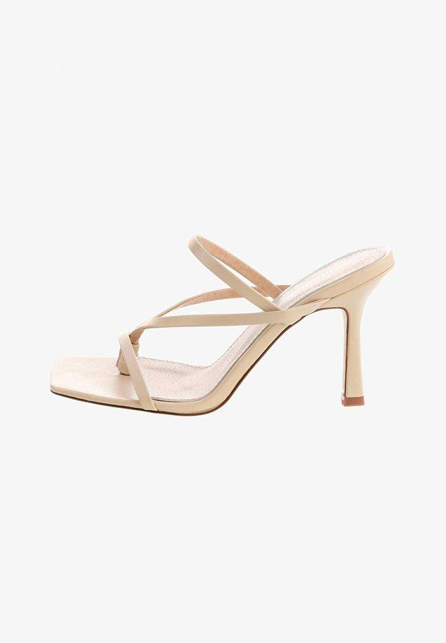 PANTALEO - Sandaletter - beige