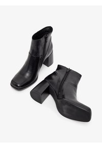 Bianco - BIADAY - Classic ankle boots - black - 3