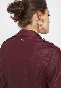 Morgan - GRAMMO - Faux leather jacket - bordeaux - 3