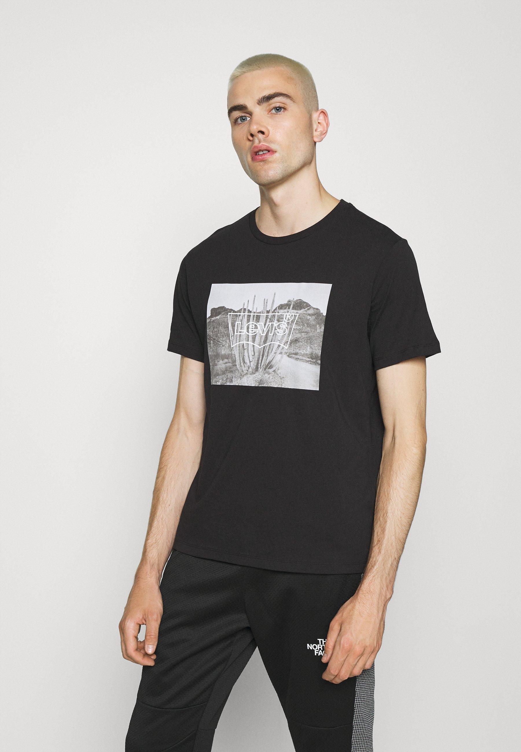 Men GRAPHIC CREWNECK TEE STREET STRIPE - Print T-shirt