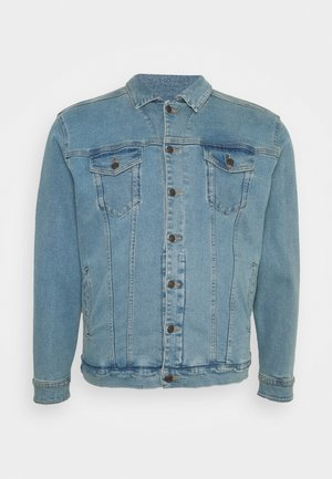 PLUS KASH JACKET - Denim jacket - light blue