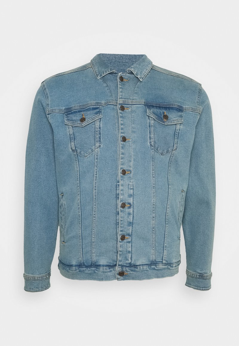Denim Project - PLUS KASH JACKET - Denim jacket - light blue