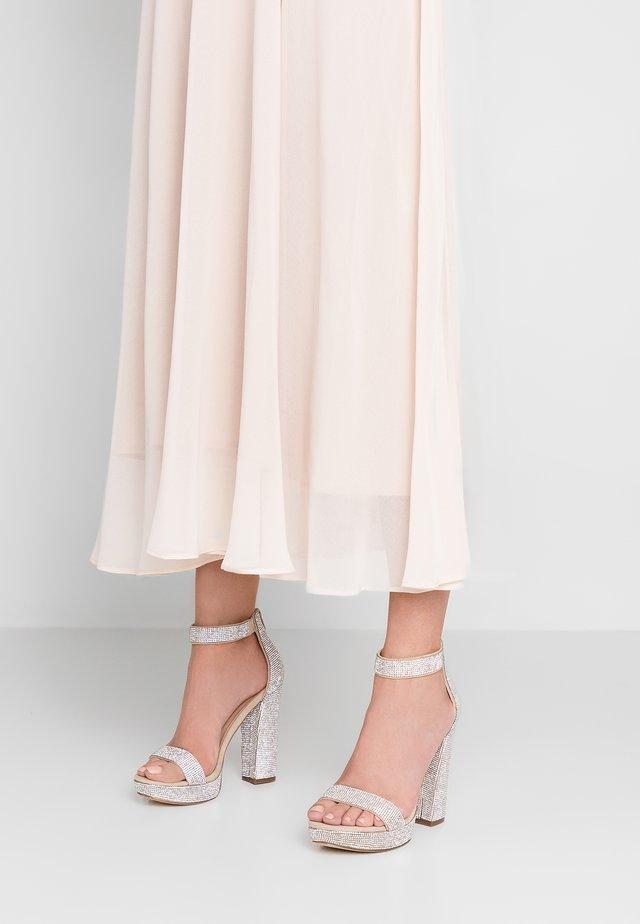 SIREN - High heeled sandals - blush