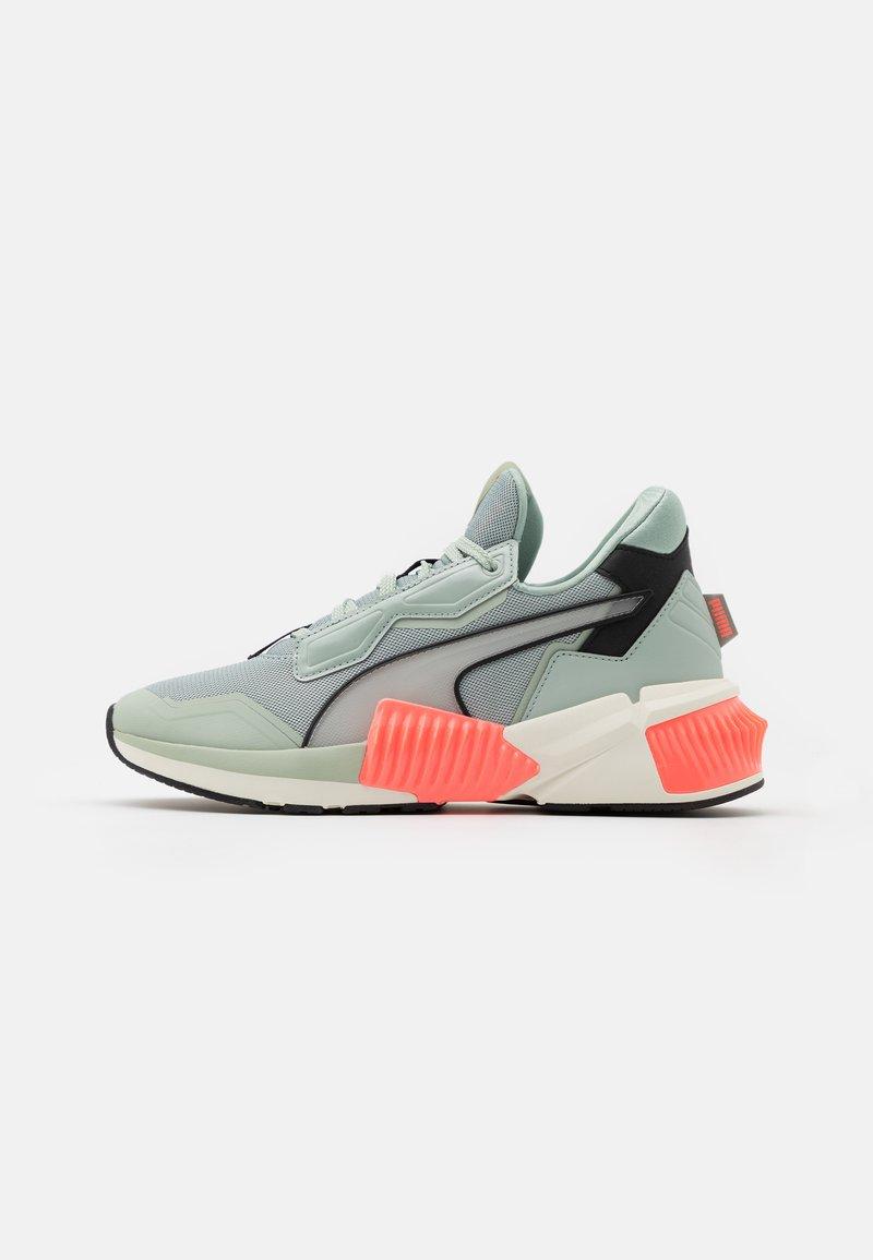 Puma - PROVOKE XT PEARL - Sports shoes - aqua gray/marshmallow/nrgy peach