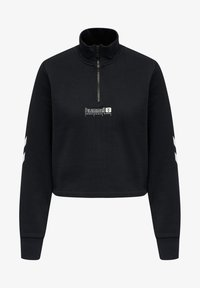 Hummel - HMLLGC NIKKA CROPPED - Strikpullover /Striktrøjer - black - 3