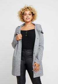 ONLY Carmakoma - CARSEDONA  - Manteau court - light grey melange - 0