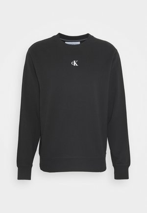 PUFF CREW NECK - Sweatshirts - black