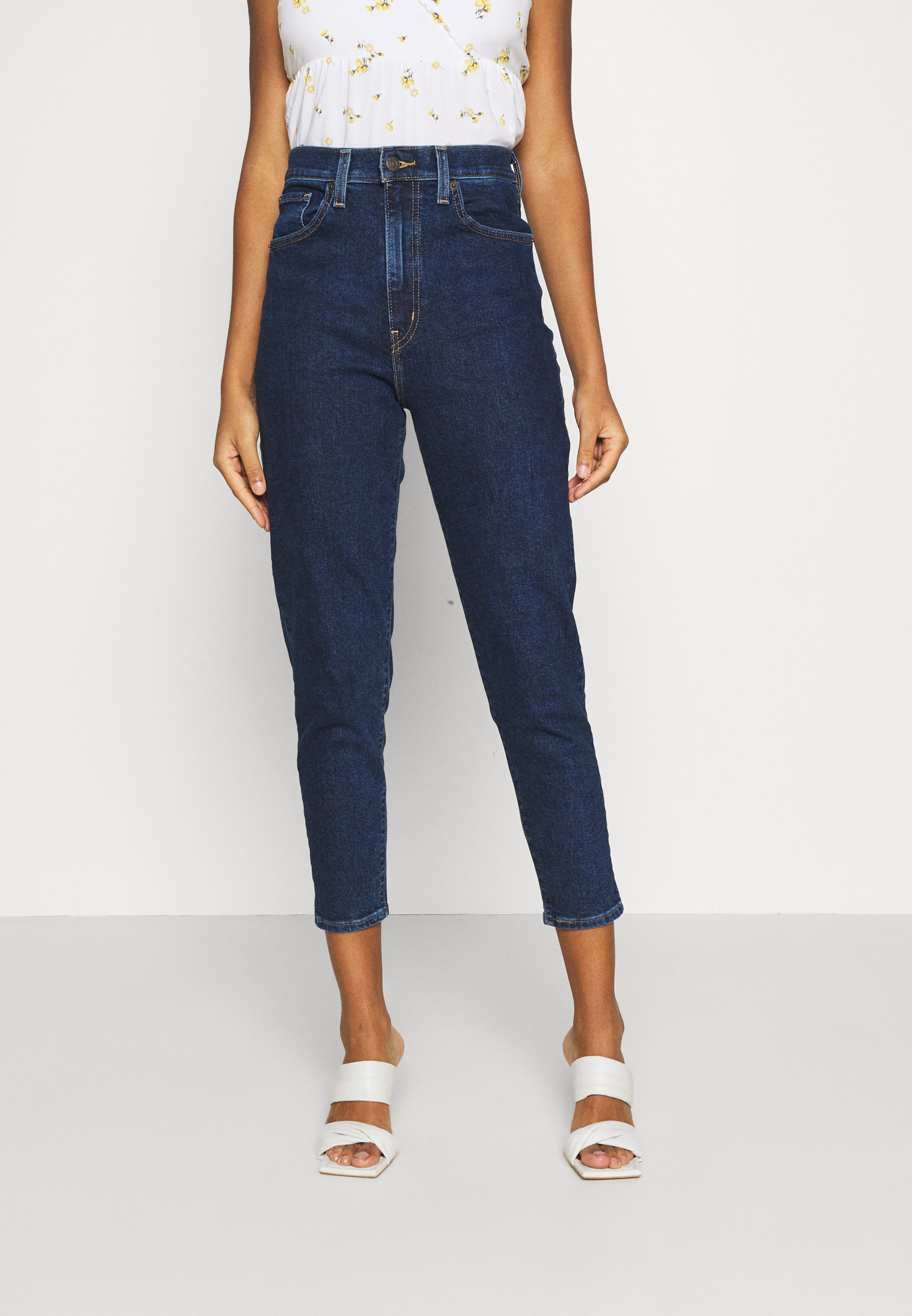 Women HIGH WAISTED MOM JEAN - Jeans Tapered Fit