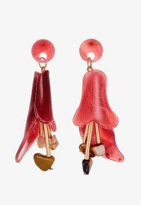 ONLY - ONLYASMIN EARRINGS - Korvakorut - goji berry - 3
