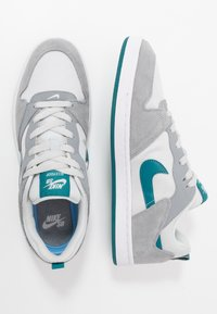 Nike SB - ALLEYOOP UNISEX - Skateschoenen - particle grey/geode teal/photon dust/white - 1