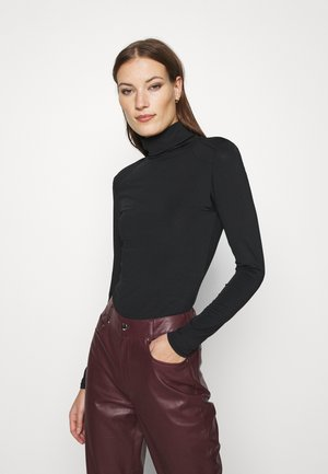 HANIN BODY - Long sleeved top - black