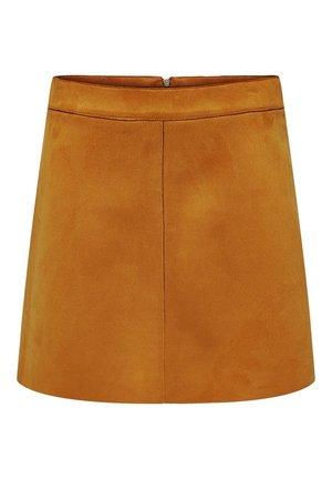 ONLLINEA BONDED SKIRT  - A-line skirt - Pumpkin Spice