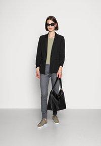Opus - ELMA SMOKE GREY - Jeans Skinny Fit - smoke grey - 1
