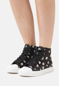 Even&Odd - Sneakers alte - black/white - 0
