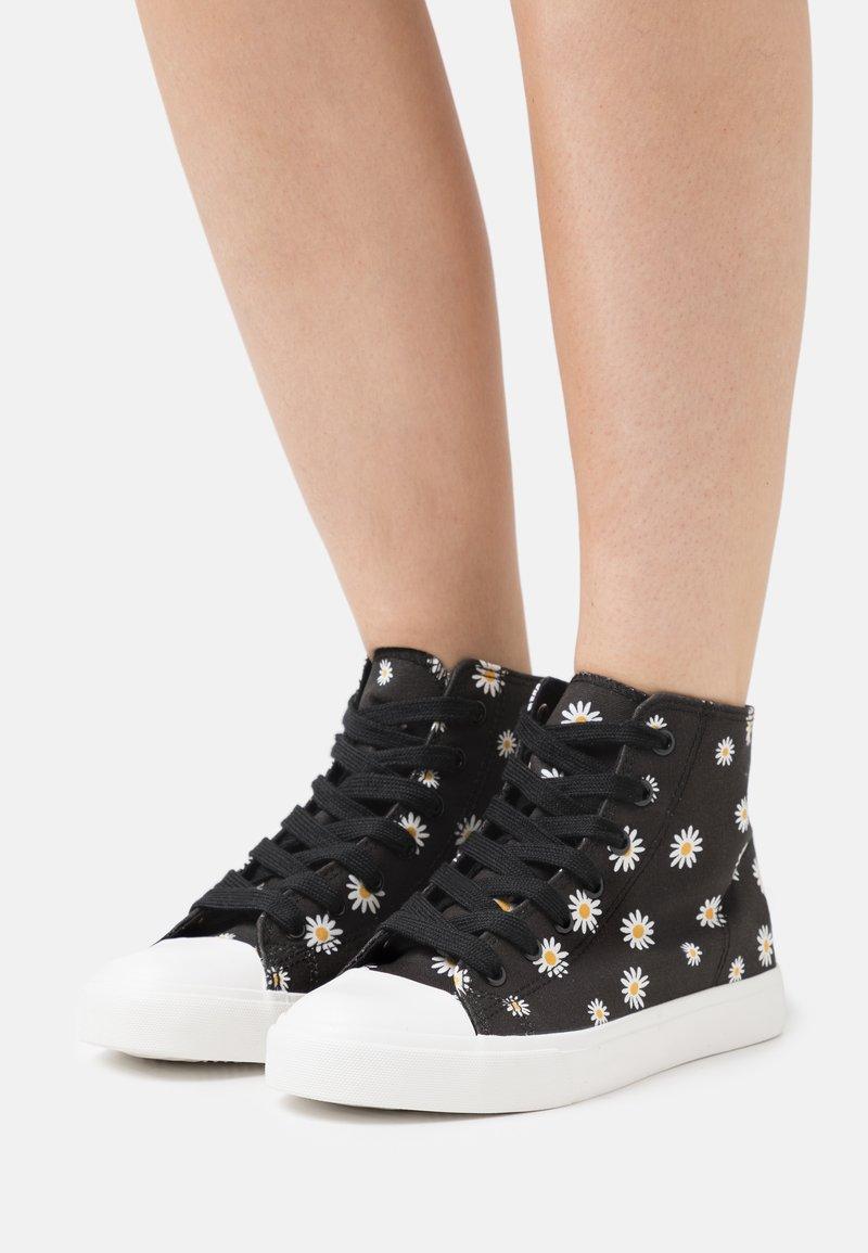 Even&Odd - Sneakers alte - black/white