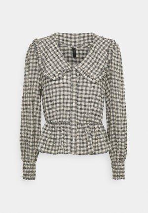 YASSTORIA SHIRT - Button-down blouse - eggnog