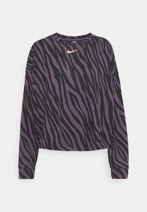 Sweatshirt - dark raisin