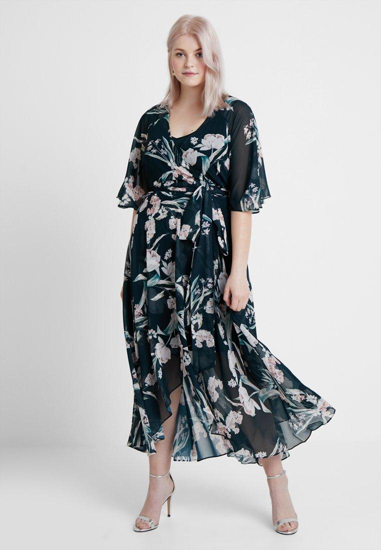 City Chic - EXCLUSIVE FRESH FIELDS - Maxi dress - multi-coloured