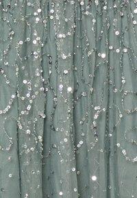 Maya Deluxe - Společenské šaty - misty green - 2