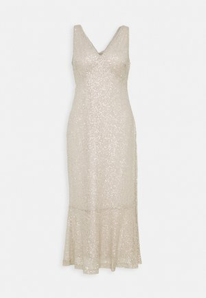 TULIP DRESS - Occasion wear - sparkling champagner