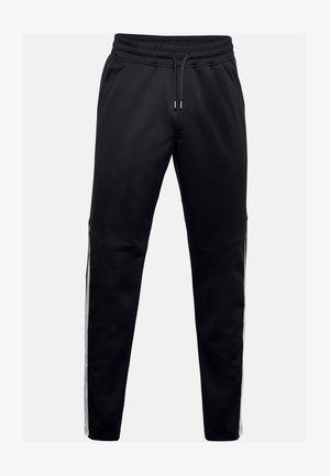 ATHLETE RECOVERY WARM UP BOTTOM - Tracksuit bottoms - black