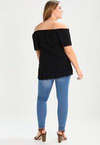 Zizzi - AMY LONG - Jeans Skinny - light blue - 2