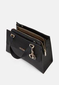 Guess - HANDBAG DALMA GIRLFRIEND SATCHEL - Handbag - black - 2