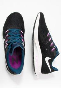 Nike Performance - AIR ZOOM PEGASUS 36 - Stabilty running shoes - black/summit white/valerian blue/vivid purple - 1