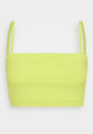 SPAGHETTI TANK - Top - semi frozen yellow
