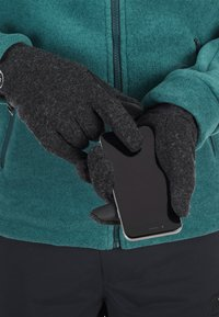 Mammut - PASSION GLOVE - Gloves - black mélange - 0