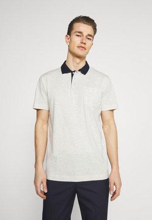 SLHNIGEL - Polo shirt - light grey melange