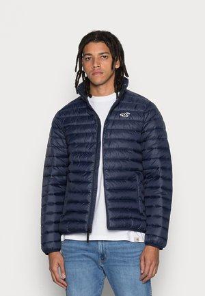 MOCKNECK PUFFER - Light jacket - navy