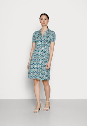 DINER DRESS CHESS - Day dress - minty meadow