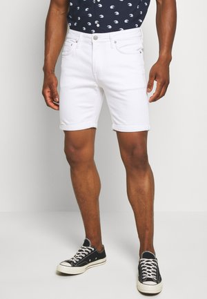 JJIRICK JJFELIX - Denim shorts - white denim