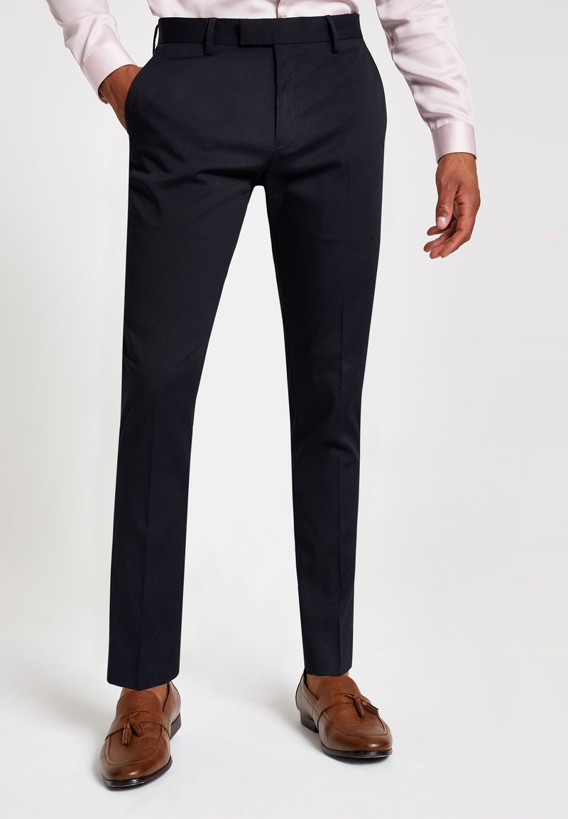 River Island - Trousers - navy