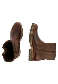 Gaastra - ANKLE BOOT/BOOTIE CASTOR HGH TMB - Cowboy/biker ankle boot - brown - 1