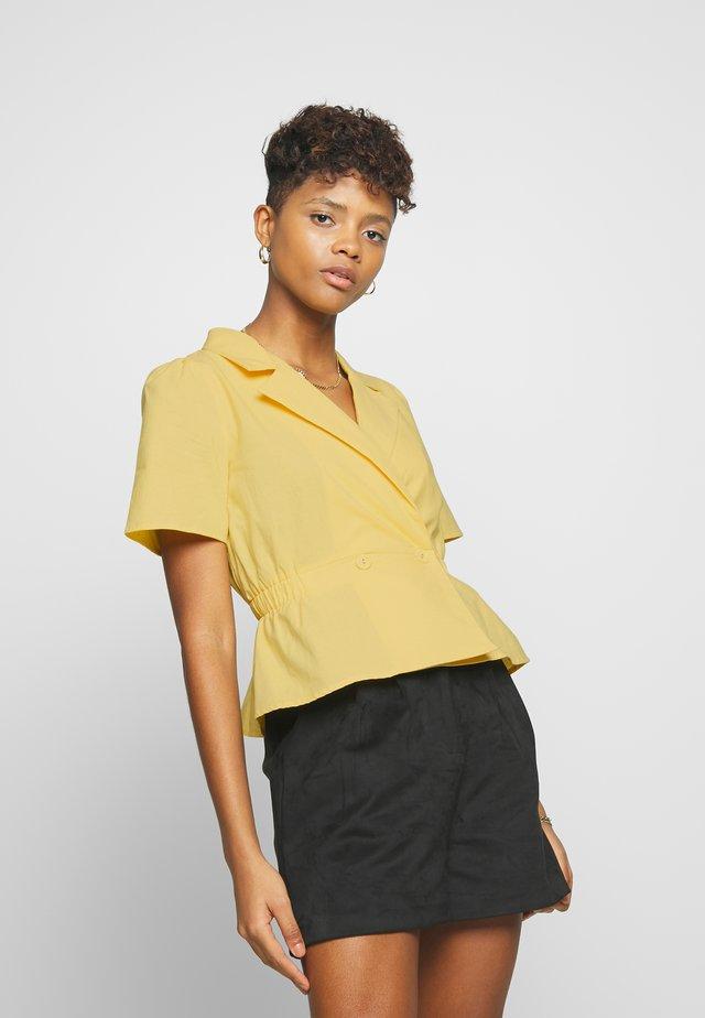 HADDY - Bluser - yellow