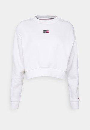 CROP TINY - Bluza - white