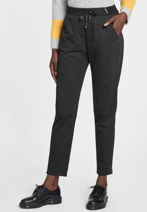 Trousers - schwarz/grau