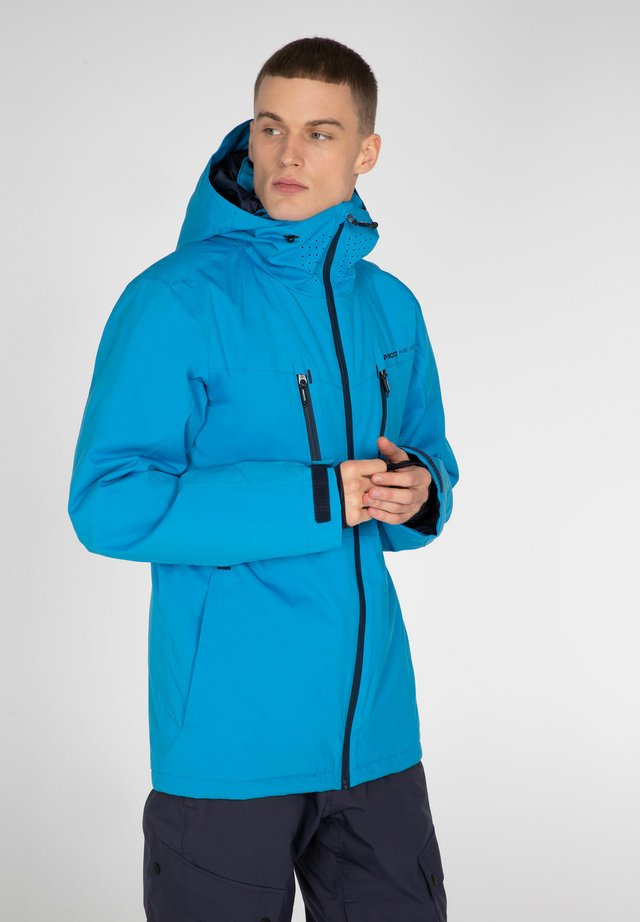 Snowboardová bunda - marlin blue