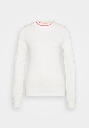 VILA GOLF - Neule - white