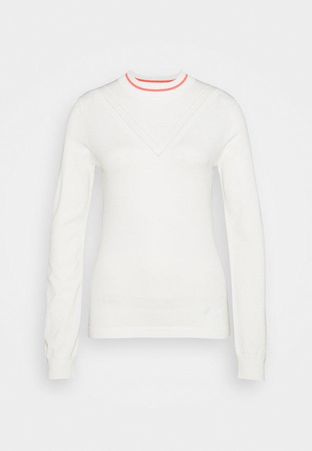 VILA GOLF - Jersey de punto - white
