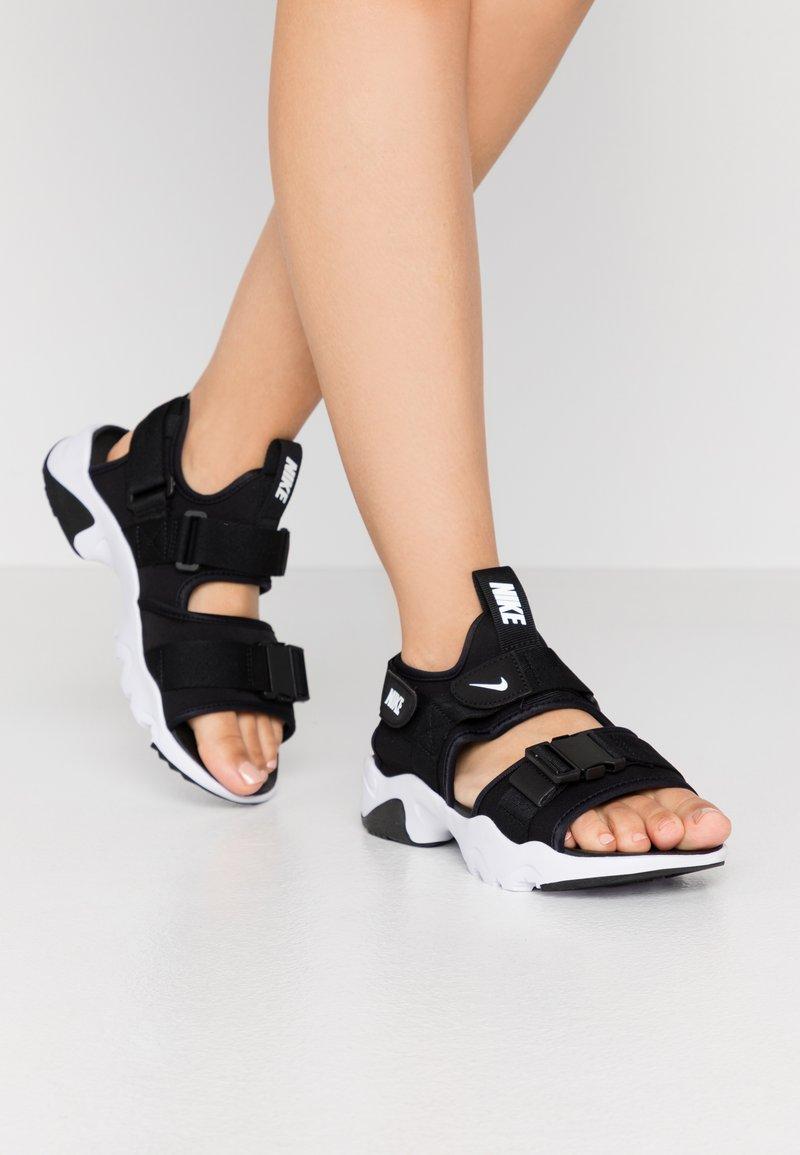Nike Sportswear - CANYON  - Outdoorsandalen - black/white