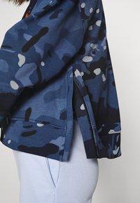 G-Star - LOOSE FIT CAMO CREWNECK - Sweater - faze blue multi - 5