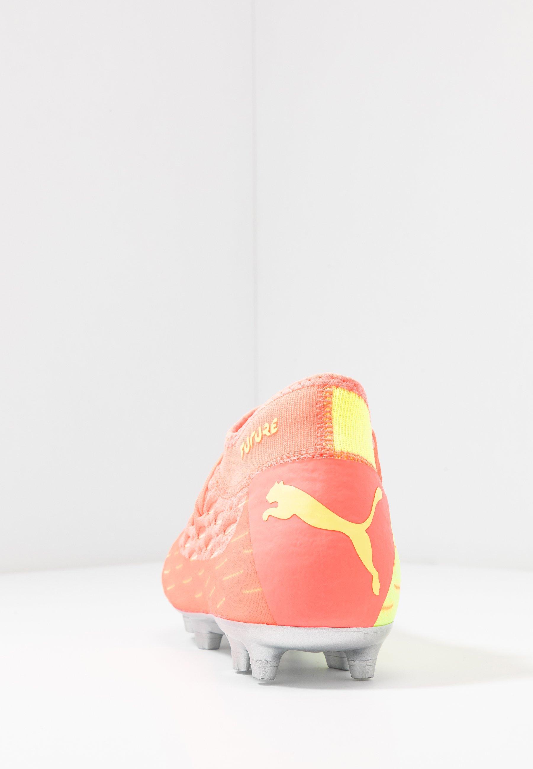 FUTURE 5.2 NETFIT OSG FGAG Fotbollsskor fasta dobbar energy peachfizzy yellow