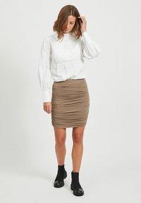 Object - Mini skirt - fossil - 1
