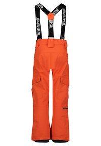 Rehall - Snow pants - orange - 3